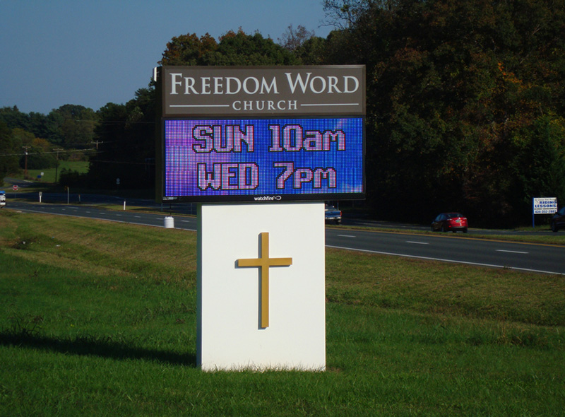freedom-word Church-digital-signage