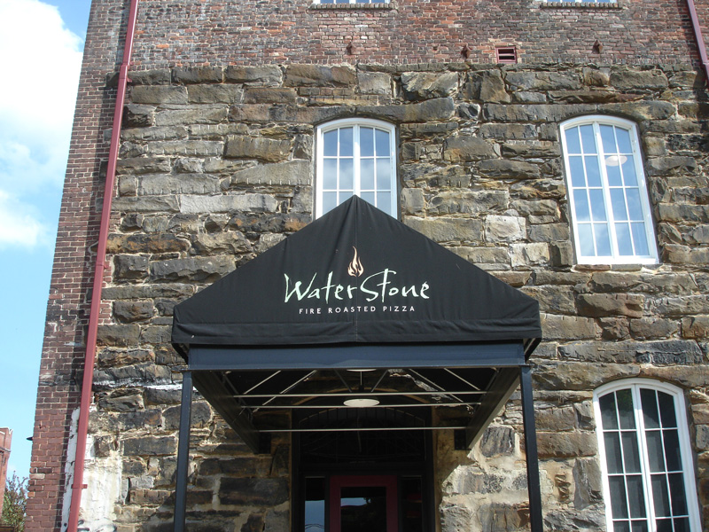 Waterstone Awning McBride Signs Lynchburg