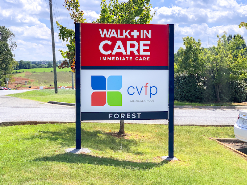Walk-in-care CVFP Wayfinder-sign-McBride-wide smal