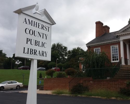 amherst-library-custom-sign mcbride